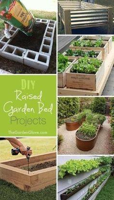 gardenfuzzgarden.com DIY Raised Garden Beds Ideas Tutorials! | gardenfuzzgarden.com by ila