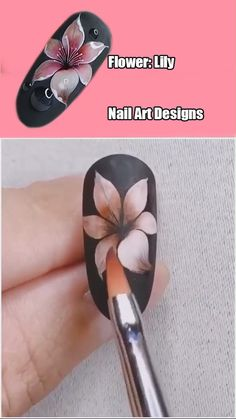 unique nail designs Brush only na - naildesign Nail Art Designs Videos, Nail Design Video, Nail Art Videos, Unique Nail Designs, Nails Design, Cute Acrylic Nails, Gel Nail Art, Nail Art Diy, Pretty Nail Art