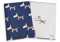 Terrier Clear File by Japanese zakka artist Shinzi Katoh - Kimono Daisy Japanese Stationery, Terrier, Trunks, A4, Artist, Daisy, Kimono, Design, Style