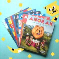 Anorak Subscriptions! http://www.anorakmagazine.com/shop/