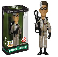 Ghostbusters Marshmallowed Dr. Egon Spengley Vinyl Idolz figure by Vinyl Sugar. San Diego Comic Con 2015 exclusive.