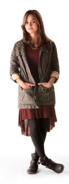 Women Of Doctor Who : Jenna Coleman as Clara Oswald.