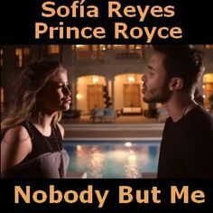 Sofia Reyes - Nobody But Me ft. Prince Royce chords acordes