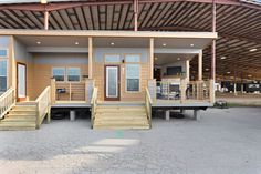 APH 520 - Athens Park Model RVs | Champion Homes Porch Interior, Interior Photo, New House Plans, Small House Plans, Two Bedroom Floor Plan, Rv Homes, Tiny Homes, Park Model Rv, Guest Cabin