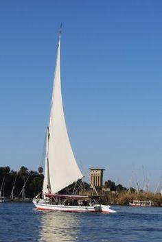 A felucca on the Nile, Egypt. #travel #photography #bucketlist