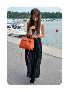 <3 long skirts.