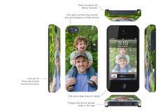 the Uncommon iPhone 5 Black Bezel Deflector