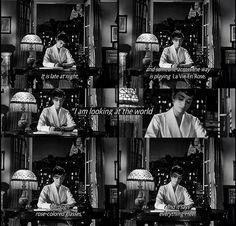 """Audrey Hepburn in """"Sabrina"""" Classic Movie Quotes, Classic Movies, Iconic Movies, Vintage Quotes, Vintage Posters, Classic Hollywood, Old Hollywood, Sabrina 1954, Tv Show Quotes"""
