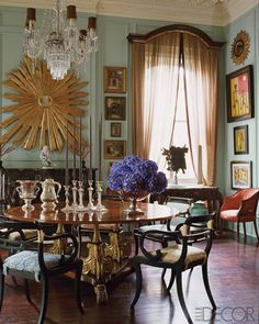 Designer Richard Keith Langham In New Orleans. Elle Decor. I Looked At This  And Nice Look