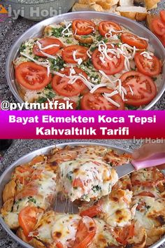 Turkish Breakfast, Breakfast Tray, Breakfast Bread Recipes, Pie Recipes, Cooking Recipes, Stale Bread, Turkish Kitchen, Turkish Recipes, Food Design