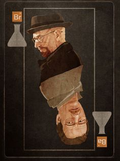 Walter White Card (from a wallpaper)