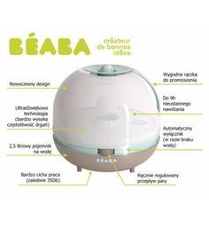 Nawilżacz powietrza Beaba Pastel Blue