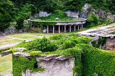 まるでラピュタや古代ローマ遺跡!廃墟マニアの心くすぐる佐渡島の北沢浮遊選鉱場跡 - Find Travel