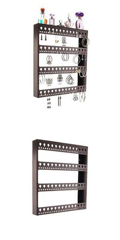 MultiPurpose 168165 Wall Mount Earring Holder Hanging Jewelry