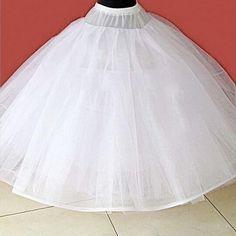 Simple White Tiered Tulle Petticoat Wedding Accessories Vestido De Noiva 2015 Wedding Underskirt Petticoats For Wedding Dress