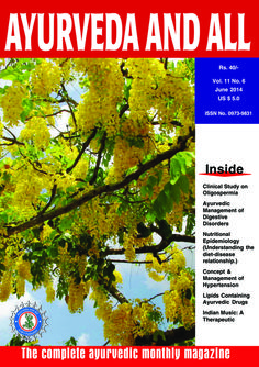 Ayurveda and all  Magazine - Buy, Subscribe, Download and Read Ayurveda and all on your iPad, iPhone, iPod Touch, Android and on the web only through Magzter
