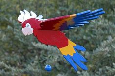 "PARROT Wind Mobile, the wind makes it ""fly""....."