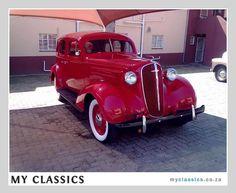 1936 Chevrolet 4 door sedan classic car