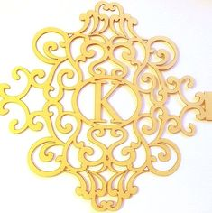 Golds and Whites! by Sandra K. Robbins on Etsy Wedding 2017, Belly Bands, Laser Cutting, Embroidery Stitches, Monogram, Lettering, Cnc, Gold, How To Make