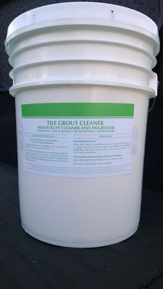 TILE & GROUT CLEANER HEAVY-DUTY CLEANER & DEGREASER INDUSTRIAL STRENGTH ~ 5 Gal ~ Biodegradable ~ Non-Caustic ~ Phosphate Free ~ Non-Flammable ~ Affordable ~  No ODS, VOC, Phenols, or Dyes ~ Will NOT Lighten Tile or Grout ~ Powerfully REMOVES  oil, food, soap, adherents, pollen, mold, wax, dirt, etc. SAFE on plastic, metal, painted & unpainted surfaces, wood, rubber, & hard rock. patriotchemicalcompany.com 888-896-4827 #TileCleaner #GroutCleaner #TileGroutCleaner #KitchenCleaner…