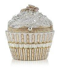 judith leiber, cupcake clutch bag