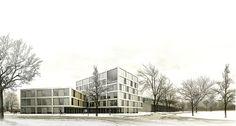Comisaría by Ferrando . Nadal . Heredero (Winterthur, Switzerland) #architecture