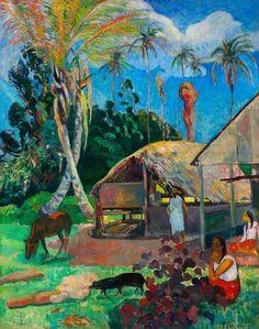Paul Gauguin, «The Black Pigs»