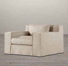 Capri Slipcovered Chair   Chairs   Restoration Hardware