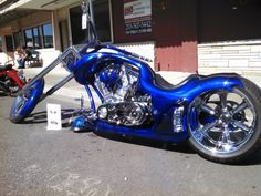 War Eagle Chopper | Motorcycles | Totally Rad Choppers