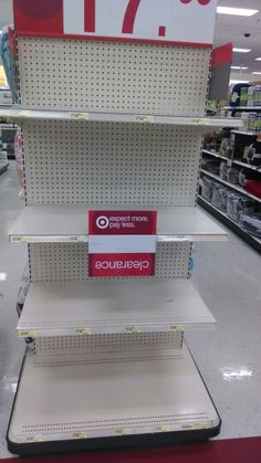 Saturday morning. Target is ready for the weekend