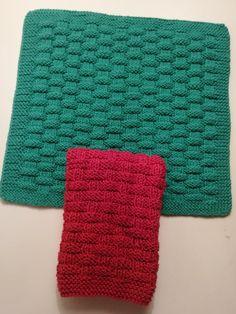 Køkken – Strikket – sannes-web.dk Knitting Stitches, Knitting Patterns, Knit Crochet, Crochet Pattern, Drops Design, Basket Weaving, Animals And Pets, Ravelry, Stitch Patterns