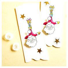 "digi stamp ""santa claus - handstand"" #cardmaking #christmas #digistamps #santaclaus #advent #stnicholas #goebie #goebiedesign #actionwobble"