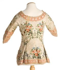 Imatex - this jacket is in incredible shape. The cuffs and polonaise (cutaway) style make me say 1770s.