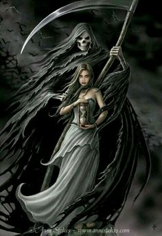 ~ † The Grim Reaper is Here Now † To Take U. † ~