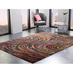 Red/Yellow Rug