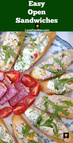 Easy Open Sandwiches