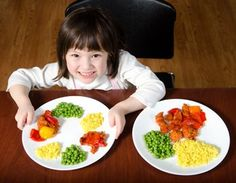 Some great tips to try when feeding children who can be picky.