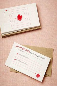 les petits messages aux mariés par La Belette rose pour wallt (à télécharger)