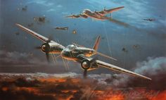 Nicolas Trudgian's Limited Edition Aviation Paintings. Check his site for many more, along with descriptions and details of every plane and historic background of every painting. http://www.nicolastrudgian.com/