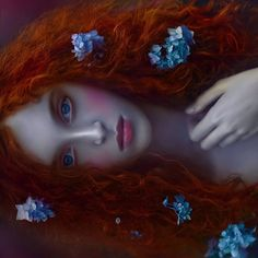 Ophidia by Agnieszka Lorek on Fantasy Photography, Creative Photography, Portrait Photography, Redhead Girl, Beauty And The Beast, Red Hair, Character Inspiration, Fantasy Art, Pop Art