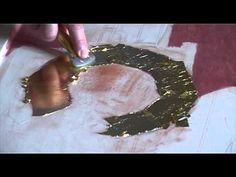 ΧΡΥΣΩΜΑ How to burnish gold leaf with agate stone Abstract Painting Techniques, Painting Videos, Art Techniques, Knife Painting, Byzantine Icons, Byzantine Art, Tinta Natural, Gold Leaf Art, Feuille D'or