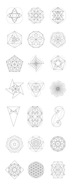 Sacred Geometry BUNDLE: 60 Items More