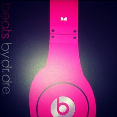 Beats by Dre! I'm getting a pair of these for Christmas! Now to decide between pink and purple or the real pretty light blue :))