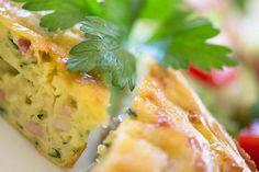 Zucchini slice   a Julie Goodwin recipe