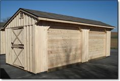 Combo: Horse Barn/Run-In Shed (or for horses; an economical solution!)