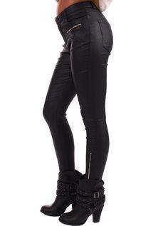 Lime Lush Boutique - Black Faux Leather Pants with Gold Zipper Detail , $49.99 (http://www.limelush.com/black-faux-leather-pants-with-gold-zipper-detail/)