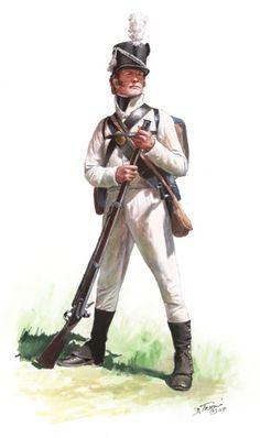 17th U.S. Infantry (summer dress.