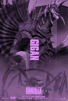 Godzilla King of the Monsters: Gigan, Chief of the Space Chickens All Godzilla Monsters, Godzilla Comics, Cool Monsters, King Kong, Kaiju Size Chart, Godzilla Wallpaper, Godzilla Franchise, Mythical Creatures, Beast