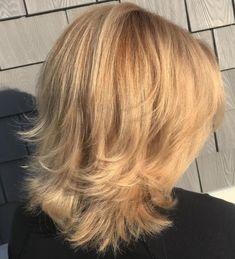 Flipped End Shag Haircut Medium Shag Haircuts, Feathered Hairstyles, Short Bob Hairstyles, Cool Hairstyles, Haircut Medium, Men's Hairstyle, Formal Hairstyles, Wedding Hairstyles, Bob Haircuts