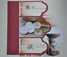 gorgeous layout with close-up photos. Scrapbook Templates, Scrapbooking Ideas, European Fashion, European Style, Close Up Photos, Couture, Mosaic, Layout, Holiday Decor